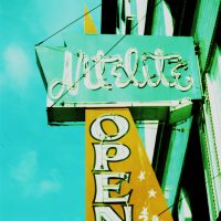Open 24hrs. - Seattle Nitelite neon sign | Blurbomat.com