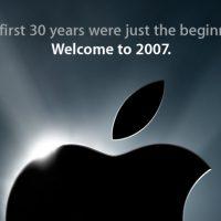 iPhone announcement 2007