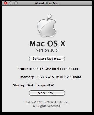Mac OS X 10.5 Leopard First Impressions