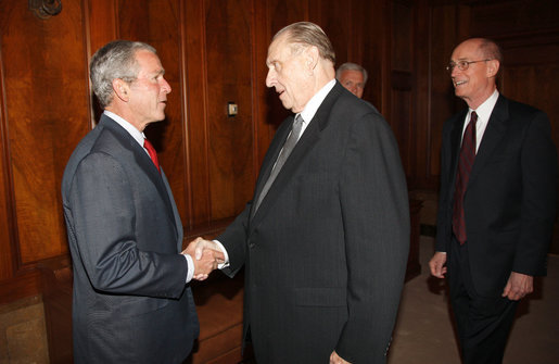 Crazy Town Handshake: Secret or Bush Secretly Mormon