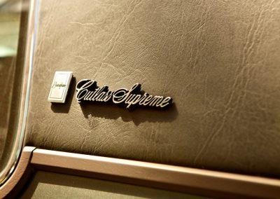 Brougham Cutlass Supreme - Logo Script