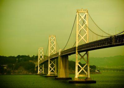 Gray Lady in Green - Bay Bridge, San Francisco | Blurbomat.com
