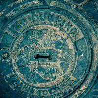 No Dumping, Runs to Creek - Austin, Texas | Blurbomat.com