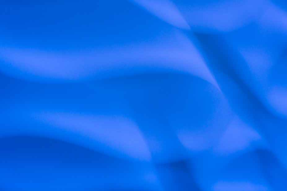 Kind of Blue: Light Fixture Abstract