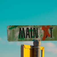 Main St. - Sign in Rural Utah | Blurbomat.com
