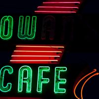 Cow Cafe - Neon Sign - Duchesne, Utah | Blurbomat.com