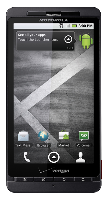 Initial Thoughts on the Droid X