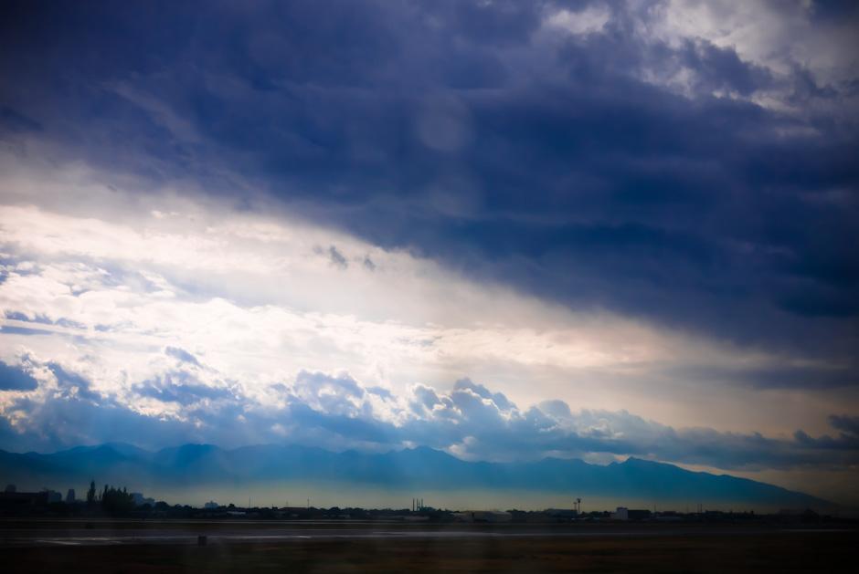 A Layer of Smog Envelopes Salt Lake City
