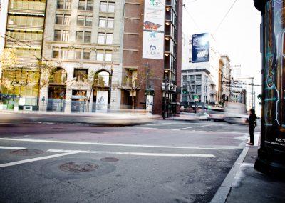 Standing on the Corner - San Francisco | Blurbomat.com