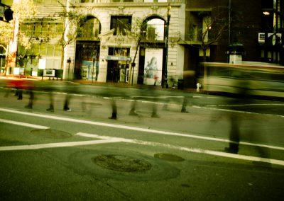 Ghosts on Market St. - San Francisco | Blurbomat.com