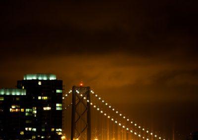 Bay Bridge Lens Flare - San Francisco | Blurbomat.com