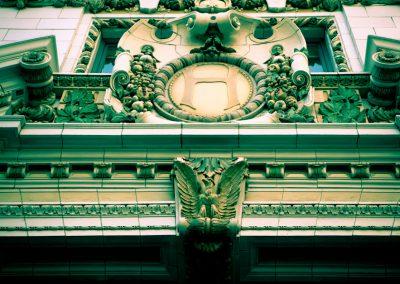 The Big H - San Francisco - Hearst Building Facade | Blurbomat.com