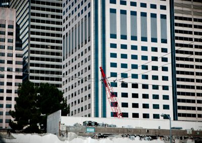 Red Crane - San Francisco construction crane | Blurbomat.com