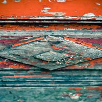 Diamond on Wood Door | Blurbomat.com