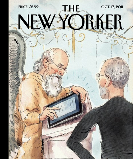 New Yorker Steve Jobs Cover