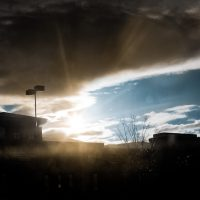 Sun Over the Strip Mall | Blurbomat.com