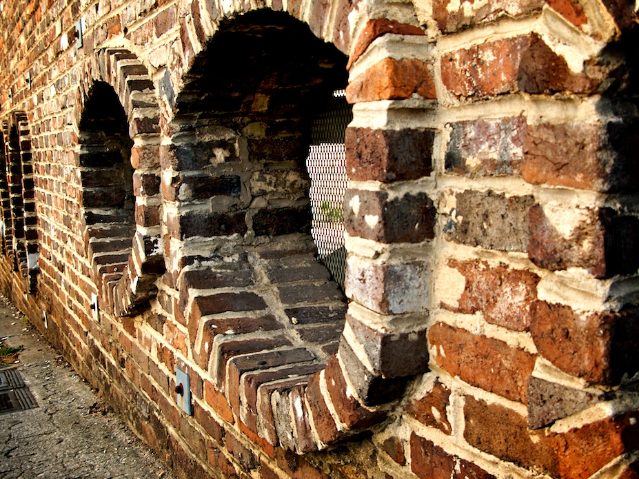 Brick Portholes – Knoxville, Tennessee
