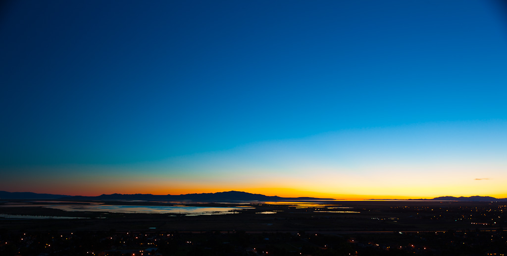 10 Seconds Over the Great Salt Lake