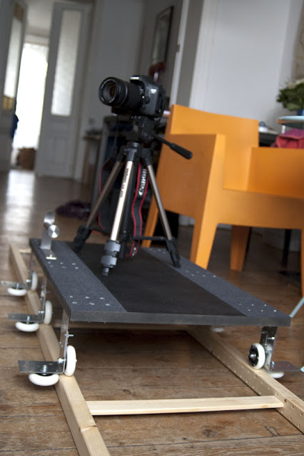Cheap Dolly Made Using IKEA Ivar and Rollerblade Wheels
