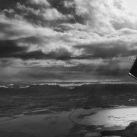 Over the Great Salt Lake | Blurbomat.com