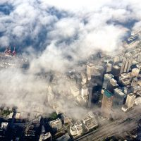 Seatle from above | Blurbomat.com
