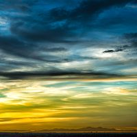 Blurbomat - Jon Armstrong - It's Still Very Cold at Night - 2012, blue, canon-5d-mark-iii, canon-ef-24-105mm-f4-0-l-is-usm, cclouds, great-salt-lake-2, slc, sunset, winter, yellow