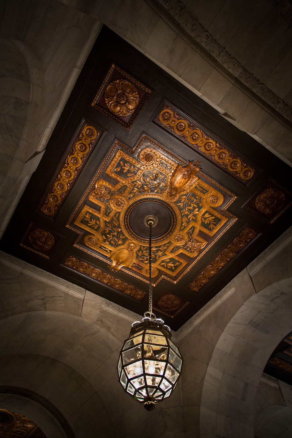 Chandelier – New York Public Library