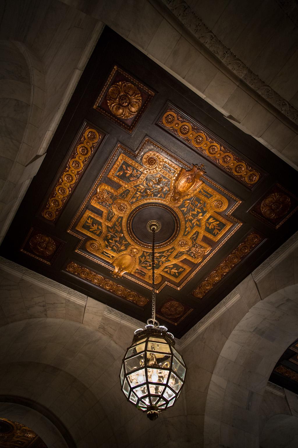 Chandelier – New York Public Library