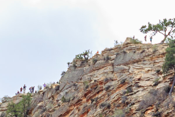 Jon Armstrong - Blurbomat - Angel's Landing Detail. Zion National Park, Utah, Angel's Landing, Jon Armstrong blog
