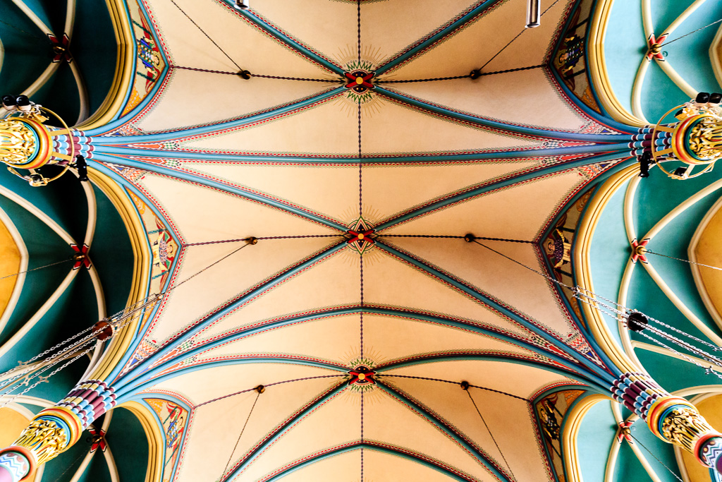 Accordion Ceiling: Inside the Cathedral of the Madeleine