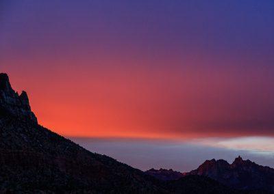 Sunrise in Springdale | Blurbomat.com