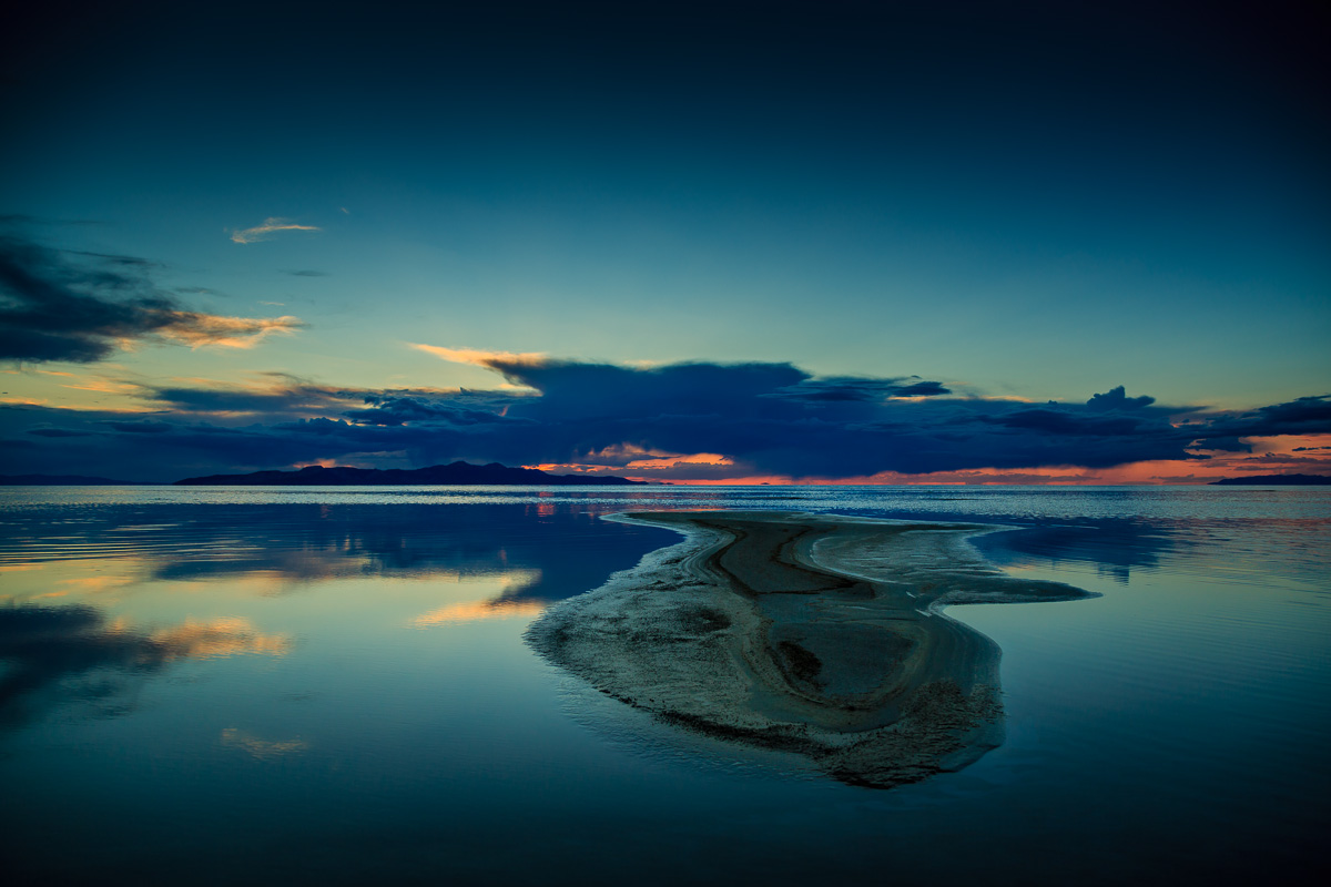 Great Salt Lake at Sunset