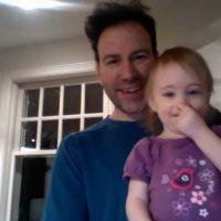 Jon Armstrong - blurbomat. Marlo Armstrong and Jon Armstrong. Fatherhood, daughter,