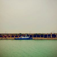 Jon Armstrong - Blurbomat - Chicago, pier, boat, summer, 2013, iPhone 5, iPhoneography
