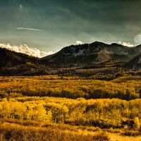 Autumnal Scene- The view from Guardsman Pass near Park City, Utah. | Blurbomat.com