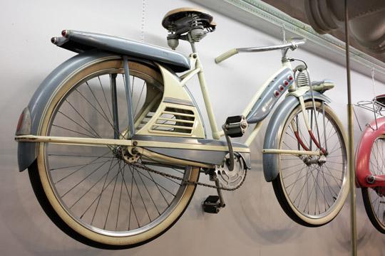 1950 J C Higgins Color Flow Blue Vintage Bike