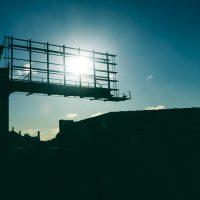 Silent Billboard Sun | Blurbomat.com