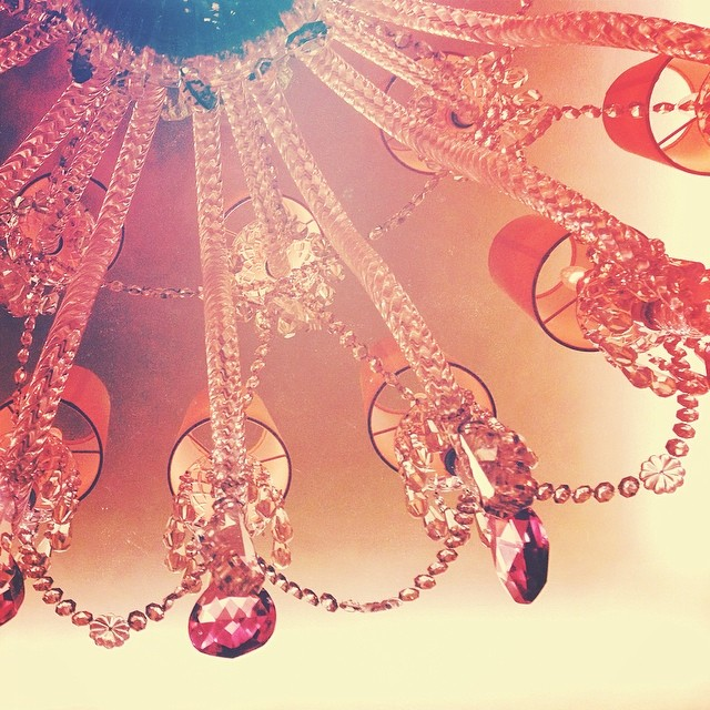 Candied Chandelier