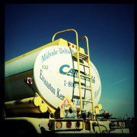 Tanker truck Hipstamatic | Blurbomat.com