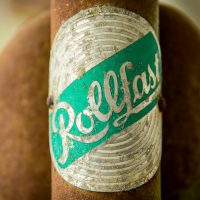 Rollfast by Jon Armstrong for Blurbomat.com - macro image of a vintage bike logo