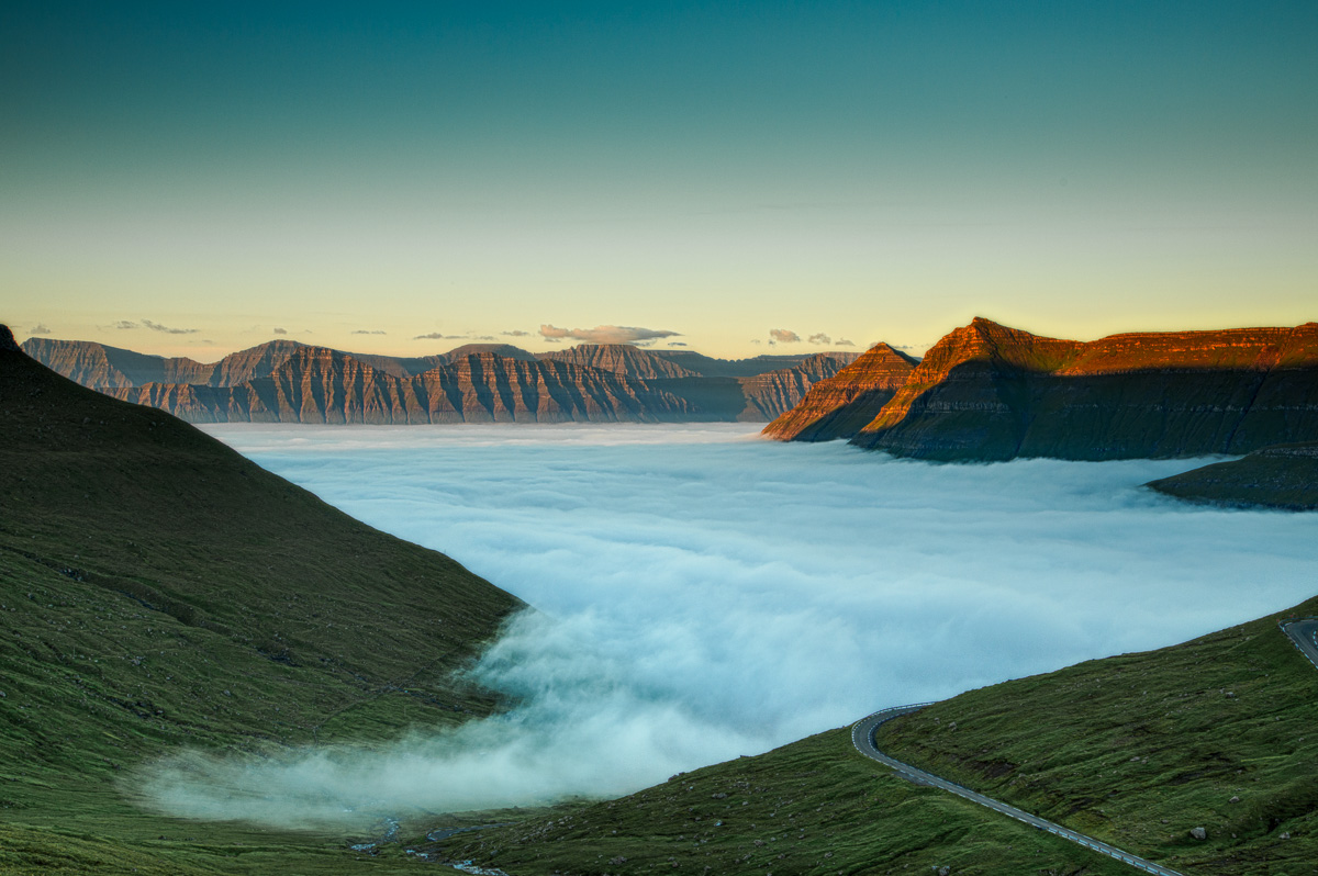 Faroe Islands, Sea of Fog