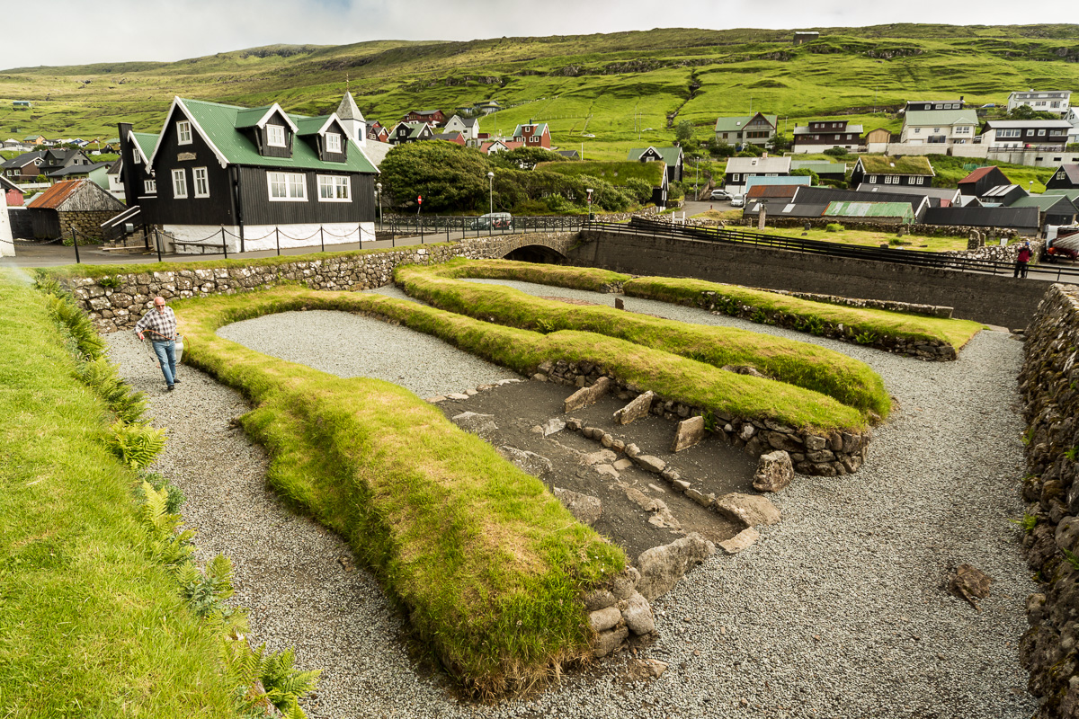 Viking excavation in Kvívík, Faroe Islands - Blurbomat.com