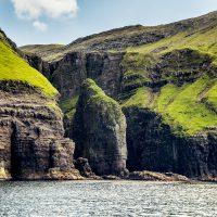 Elephant Rock, Faroe Islands (along the bird cliffs) - Blurbomat.com