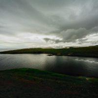 Looking up the coast near Akraberg, Suduroy, Faroe Islands.