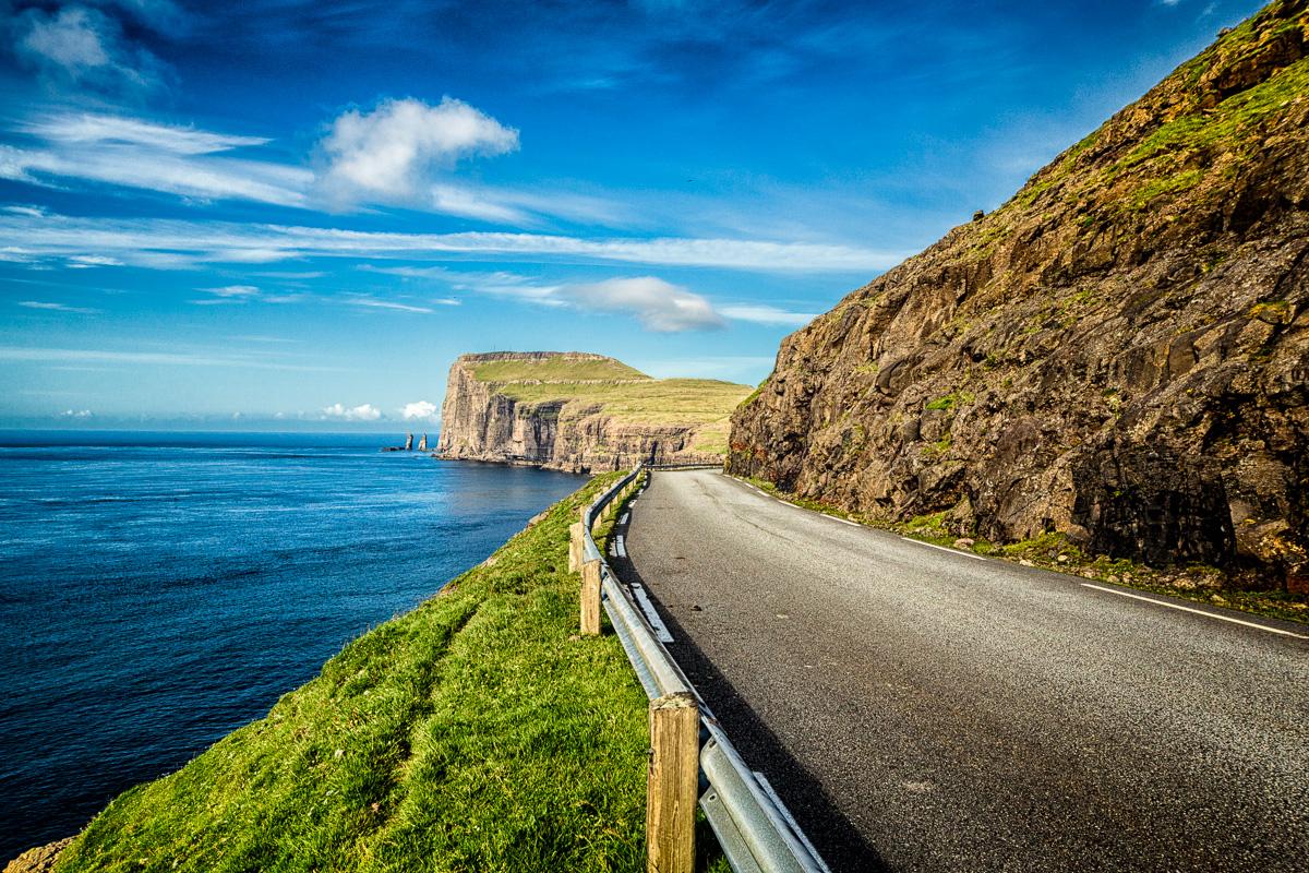 Near Tjørnuvík, Faroe Islands.