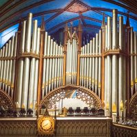 The organ in the Notre-Dame Basilica in Montreal is off the chain. - Jon Armstrong photography for Blurbomat.com
