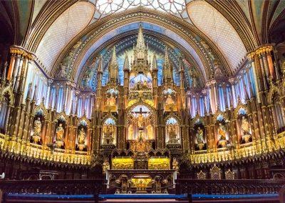 Notre Dame Basilica - Montreal | Blurbomat.com