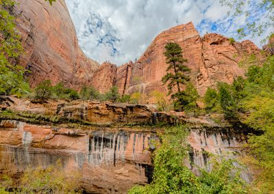 Middle Emerald Pool in Zion National Park | Blurbomat.com