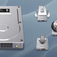 Mac OS X Aqua Hard Drive Icons