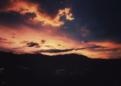 Sunset in a Western State | Blurbomat.com